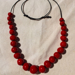 Red Beads necklacess